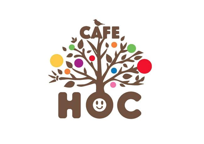 HOC cafeロゴデザイン