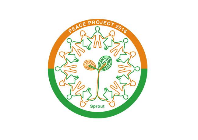 ピースプロジェクト2016ロゴデザイン